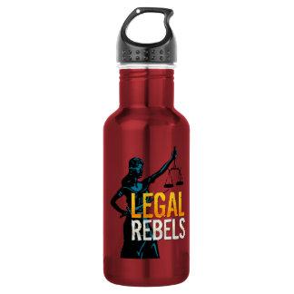 Legal Rebels Water Bottle 18oz Water Bottle