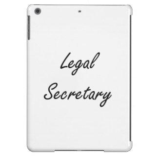 Legal Secretary Artistic Job Design Case For iPad Air
