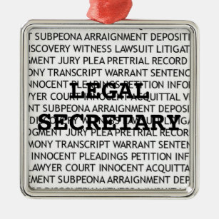 Legal Secretary Christmas Gifts on Zazzle
