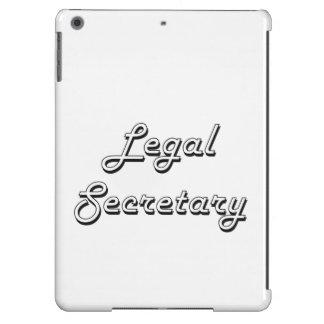 Legal Secretary Classic Job Design iPad Air Cases