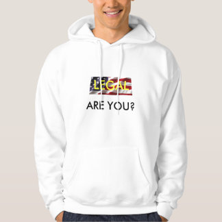 Legal Sweatshirt with Hood
