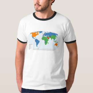 Legal Systems of the World T-Shirt