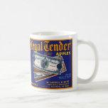 Legal Tender Apples Coffee Mug