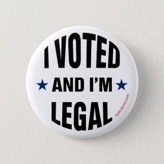 Legal Voter 1 button 2-1/4-inch