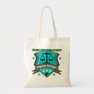 Legal World's Greatest Litigation Paralegal Tote Bag