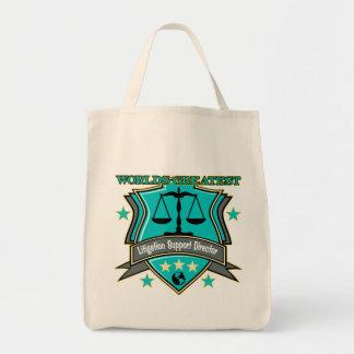 Legal World's Greatest Litigation Support Director Tote Bag