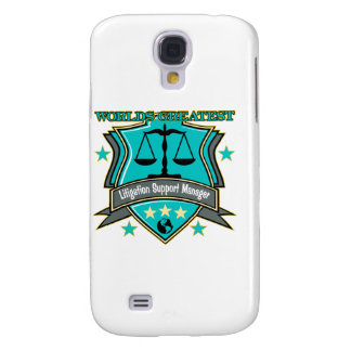 Legal World's Greatest Litigation Support Manager Samsung Galaxy S4 Cover