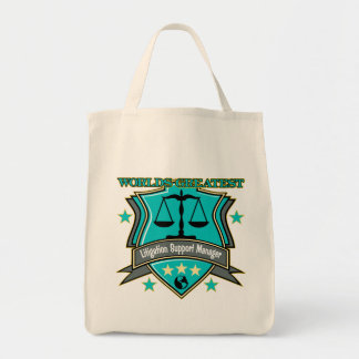 Legal World's Greatest Litigation Support Manager Tote Bag