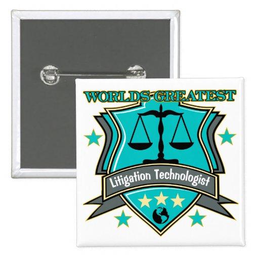 Legal World's Greatest Litigation Technologist Pin