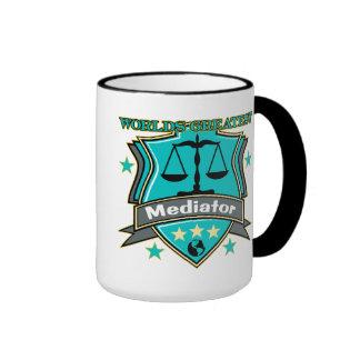 Legal World's Greatest Mediator Ringer Mug