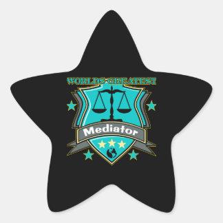 Legal World's Greatest Mediator Star Sticker