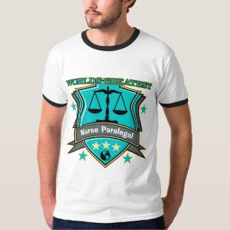 Legal World's Greatest Nurse Paralegal T-shirt