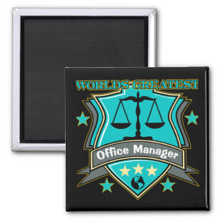 Legal World's Greatest Office Manager Refrigerator Magnet