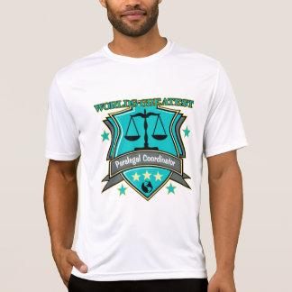 Legal World's Greatest Paralegal Coordinator Shirt