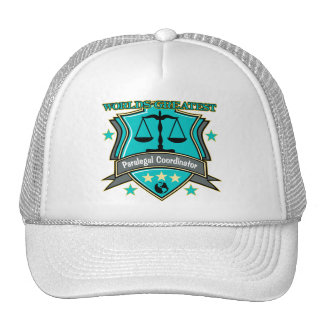 Legal World's Greatest Paralegal Coordinator Trucker Hat