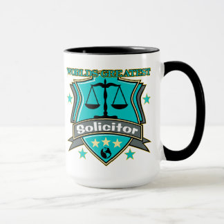 Legal World's Greatest Solicitor Mug