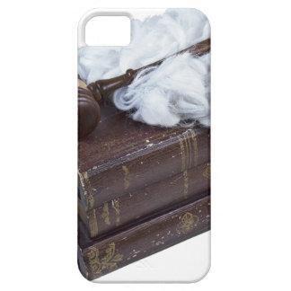 LegalBooksJudgeWigGavel042113.png iPhone 5 Cases