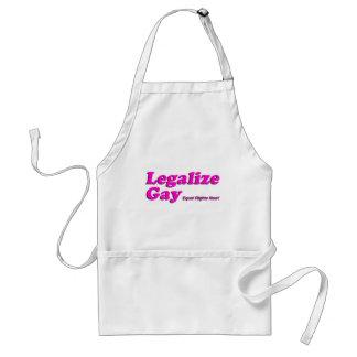 Legalice al gay delantales