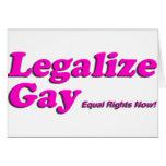 Legalice al gay felicitacion