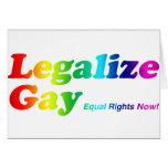 Legalice al gay felicitaciones