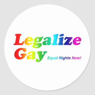 Legalice al gay etiquetas