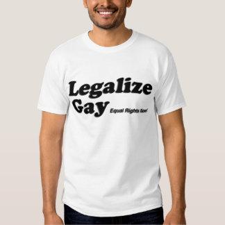 Legalice al gay playeras