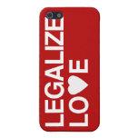 LEGALICE EL AMOR iPhone 5 FUNDAS
