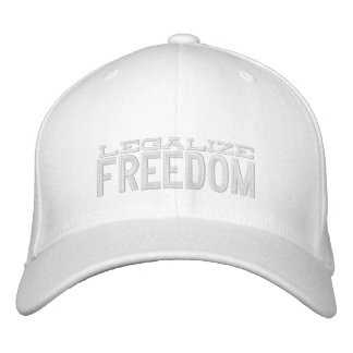 Legalice el gorra bordado libertad gorras bordadas