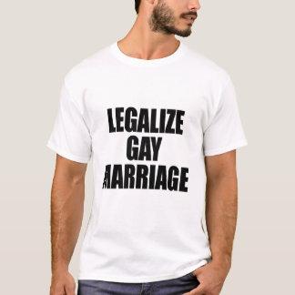 LEGALICE EL MATRIMONIO HOMOSEXUAL PLAYERA