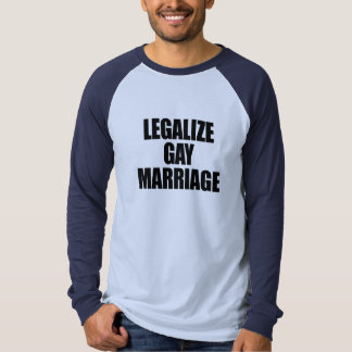 LEGALICE EL MATRIMONIO HOMOSEXUAL POLERAS