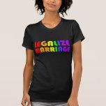 Legalice la boda camisetas