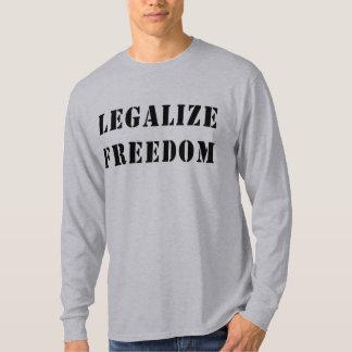 Legalice la libertad polera