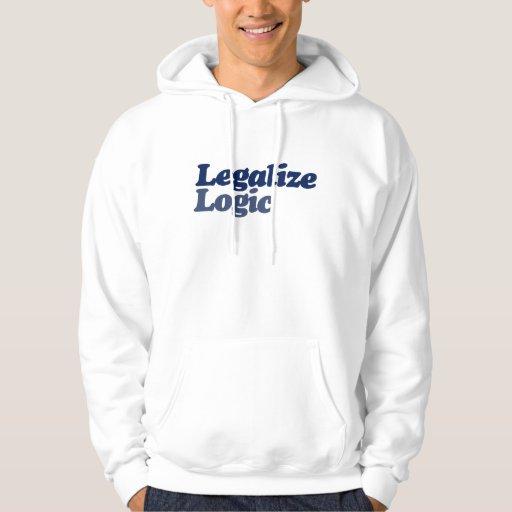 Legalice la lógica sudadera