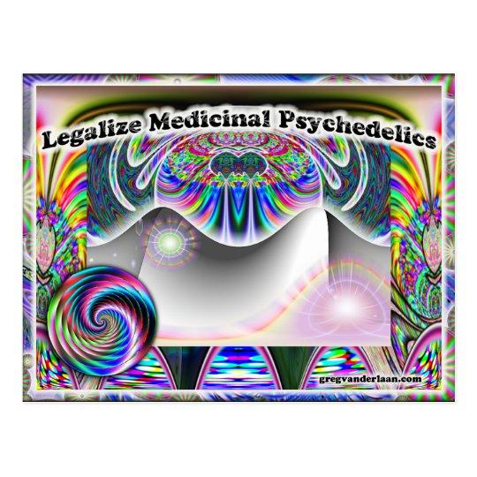 Legalice la postal medicinal de Psychedelics