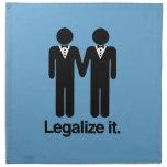 LEGALICE LOS BODAS GAY - .PNG SERVILLETA DE PAPEL
