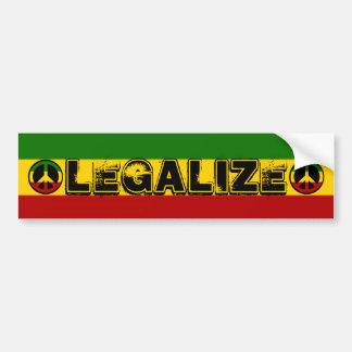 Legalize Bumper Sticker