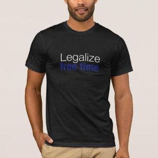 Legalize: Free Time T-Shirt