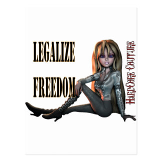 legalize freedom 2 post card