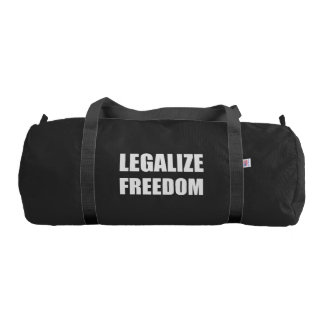 Legalize Freedom Duffle Bag