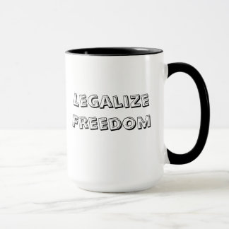 Legalize Freedom Mug