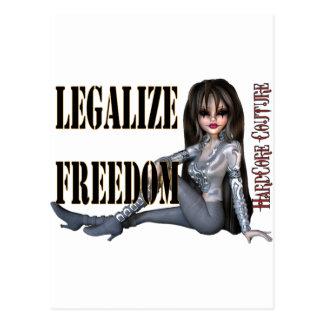 legalize freedom postcards