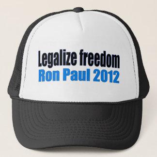 Legalize Freedom Ron Paul 2012 Trucker Hat