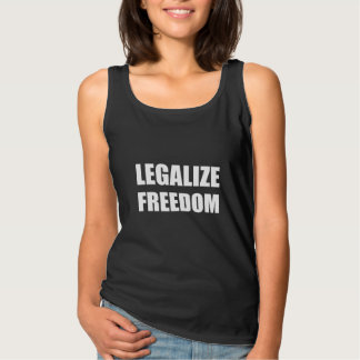 Legalize Freedom Tank Top
