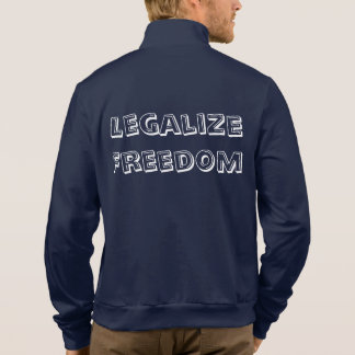 Legalize Freedom Printed Jackets