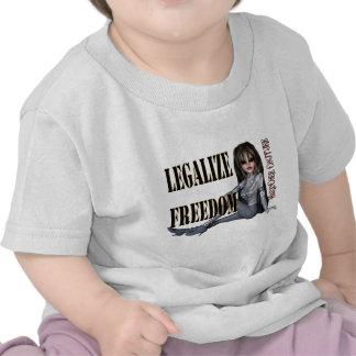 legalize freedom t-shirts
