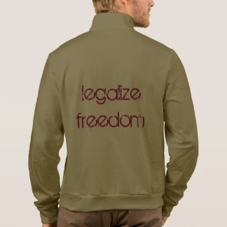 """""""Legalize Freedom"""" with Rand Jogging Fleece T Shirt"""