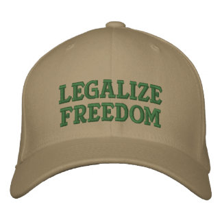 Legalize Freedom with Rand Paul in 2016! Embroidered Baseball Cap