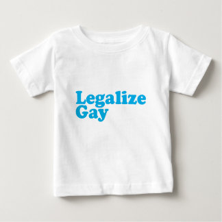 Legalize gay baby blue baby T-Shirt