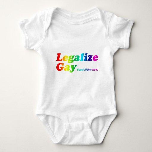 Legalize Gay Baby Bodysuit
