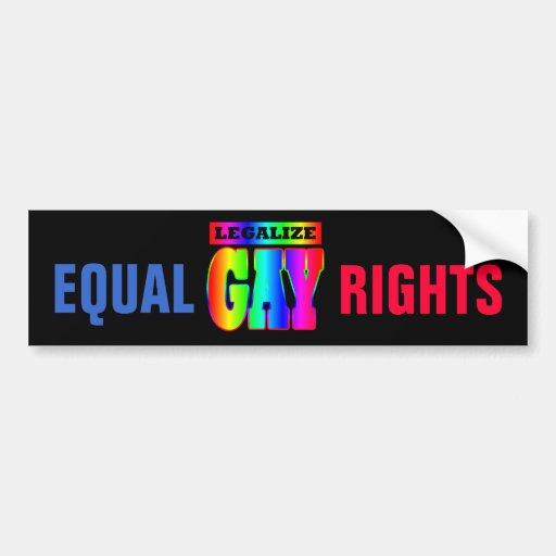Gay Rights Bumper Sticker 9